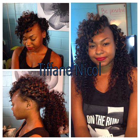 vixen sew in cost columbus ga the perfect sewin by tiffane nicol curly virgin hair