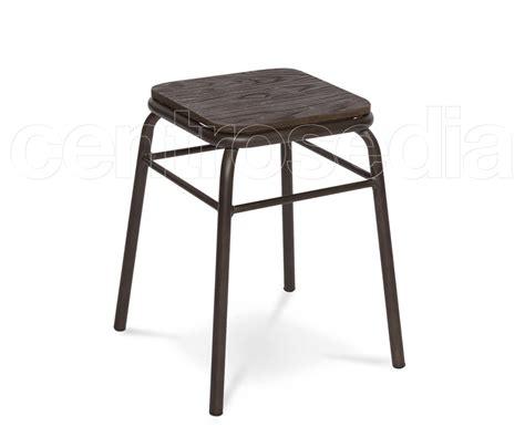 seduta sgabello college sgabello basso metallo seduta legno sgabelli