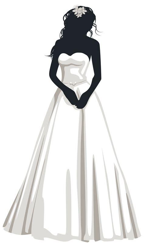Bride Silhouette PNG Clip Art | Imagen 15 Años | Pinterest ... Free Clipart Bride Silhouette