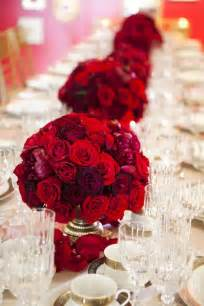 Red Flower Centerpieces - 17 best images about homes go red on pinterest vintage