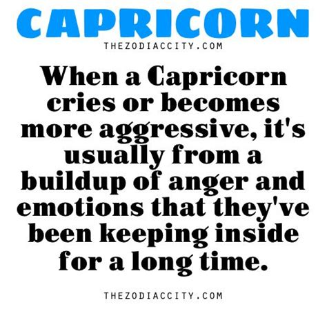 zodiac capricorn facts when a capricorn cries or becomes