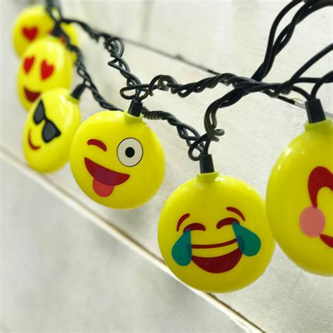 christmas lights emoji emoji icon novelty string lights