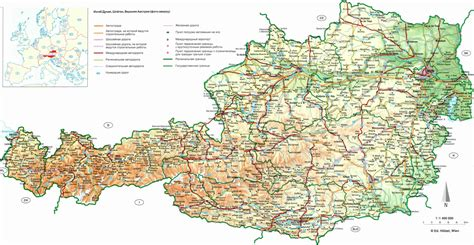 road map of road map of austria austria road map vidiani maps of all countries in one place