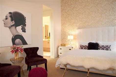 audrey hepburn style bedroom photo page hgtv
