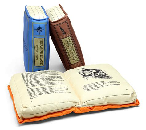 How To Make A Book Pillow by Pillow Books Snoozefest Technabob