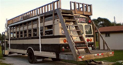 Tiny Living Homes You Can Convert Double Decker Buses Into Two Story Homes 4