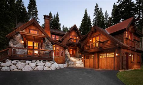 Cabins In Los Angeles by Tahoe Homes Rustic Exterior Los Angeles By Michael