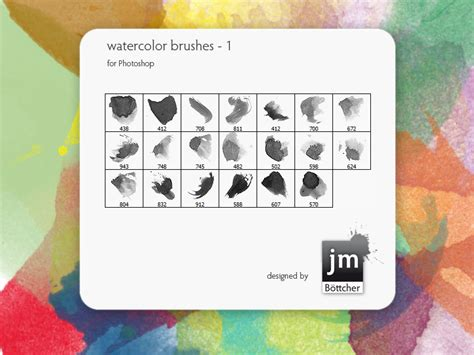watercolor brushes   1 by jmb1 on DeviantArt