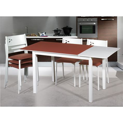 mesa y sillas blancas oferta conjunto mesa y sillas de cocina blancas white