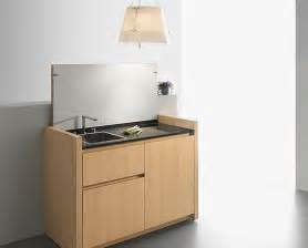 Compact Kitchen Ideas by Small And Compact Mini Kitchen In Table Like Form