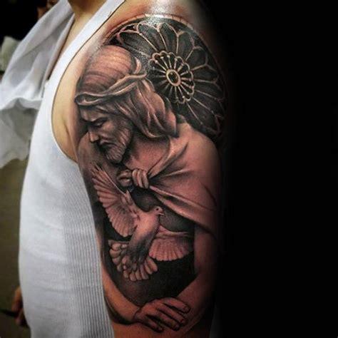 Jesus Tattoo Underarm | 60 jesus arm tattoo designs for men religious ink ideas