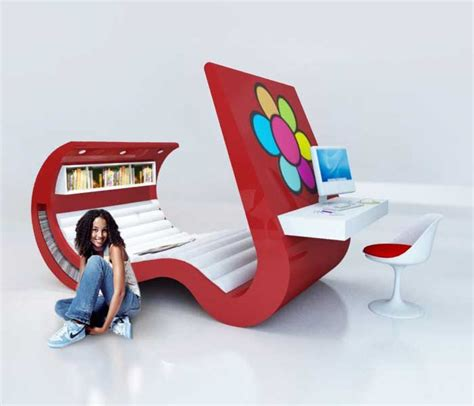 fun teenage desk chairs beautiful hi tech teenage furniture freshome com
