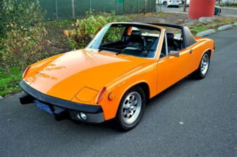 porsche 914 fuel injection purchase used 1973 porsche 914 1 7 appearance fuel