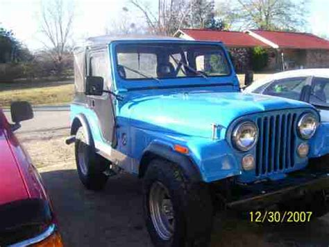 buy used 1975 used manual 4 speed v8 l82 t tops leather ps pb pw ac loaded in stuart buy used 1979 jeep cj5 v8 3 speed manual transmission 302 engine size in meridian mississippi