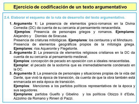textos argumentativos cortos 2 4 elaborar el esquema de la ruta de desarrollo del