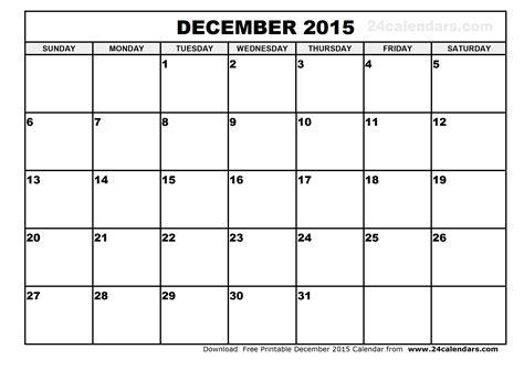 Printable Calendars December 2015 | december 2015 calendar printable