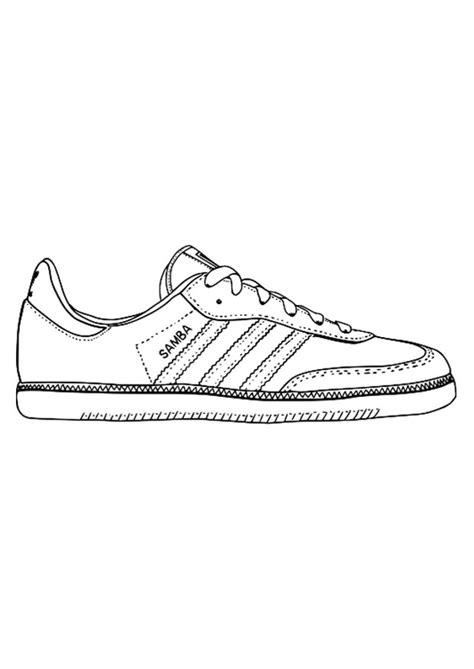 imagenes de unas zapatillas para dibujar dibujo para colorear zapatilla deportiva img 29484