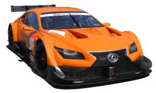 new lexus race car to compete in japanese gt series