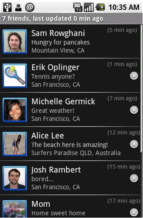 google latitude: let your friends know where you are