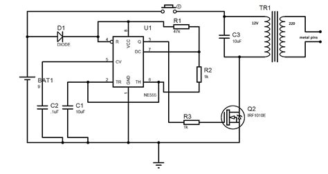 circuit diagram 555 timer wiring library