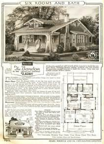 sears homes floor plans the bandon house from sears craftsman bungalow homes