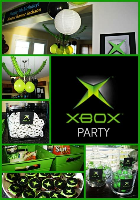 Gamis Amio Black Brownie S ultimate xbox birthday green and black decorations xbox brownies and xbox themed treats