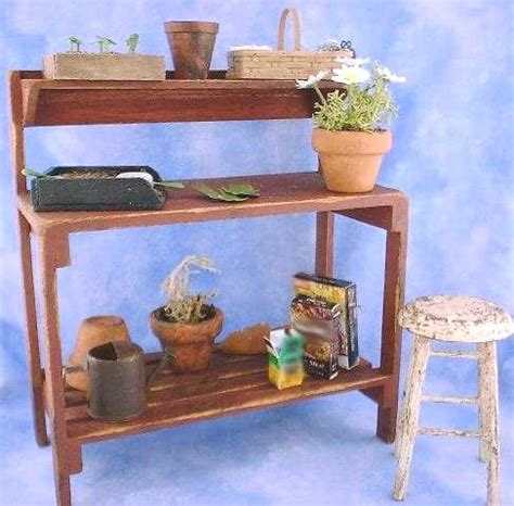 potting bench accessories miniature garden potting bench accessories tutorial