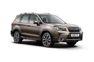 Forester Subaru 2016 Subaru Forester Gets New Styling Goes On Sale In The
