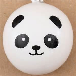 Halloween Arts N Crafts - panda bear bun squishy cellphone charm kawaii animal squishies squishies shop modes4u