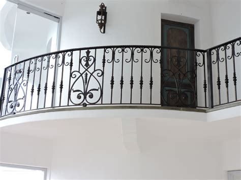 Iron Grill Design For Stairs Stair Railing Mediterranean Design Wrought Iron Railings Philippines Glass Railing Tempered