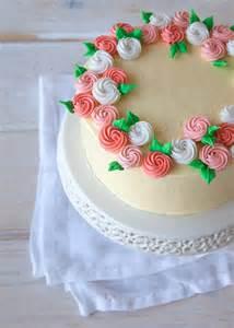 Cake Decorating Wilton Method Flower Crown Cake How To Make Royal Icing Rosettes