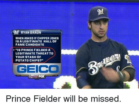 Prince Fielder Memes - 25 best memes about geico geico memes