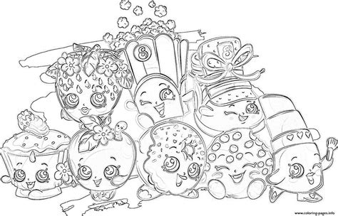 html to printable page shopkins coloring pages all printable 8 download image