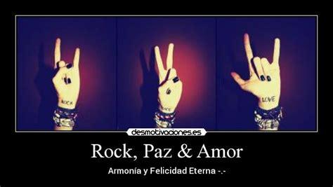 Imagenes De Emo Y Rock   rock paz amor desmotivaciones