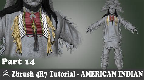 zbrush tutorial in hindi zbrush 4r7 american indian character modeling bone