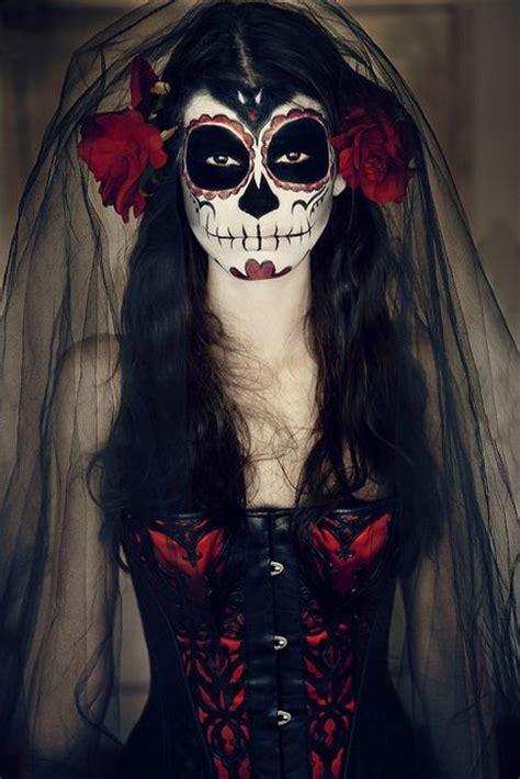 imagenes de la catrina de dia de muertos maquillaje de la catrina chicaetc