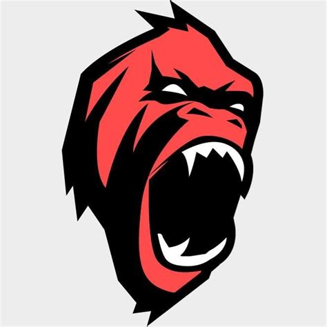 mascot clipart gorilla mascot vector clip ai vetores 365psd