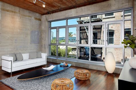 Home Decor Staging And Interior Design Loft Industrial Living Room Los Angeles By