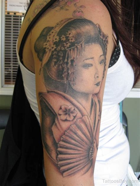 japanese face tattoo designs geisha images designs