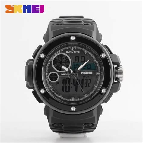 Jam Tangan Quartz Digital 2018 new model skmei jam tangan analog digital wrist