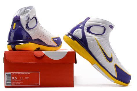 nike huarache 2k4 basketball shoes advanced nike air zoom huarache 2k4 lakers white