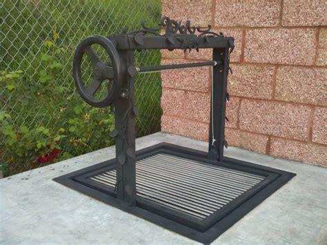 custom gas pits custom santa bbq w iron frame stainless steel