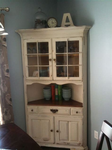 Painted Computer Armoire 25 Best Ideas About Corner China Cabinets On Pinterest