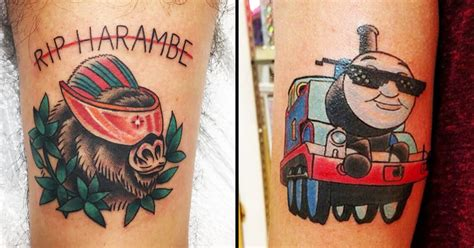 dank meme tattoos of 2016 tattoodo