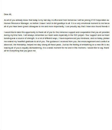 farewell email template farewell emails to colleagues 5 free word pdf