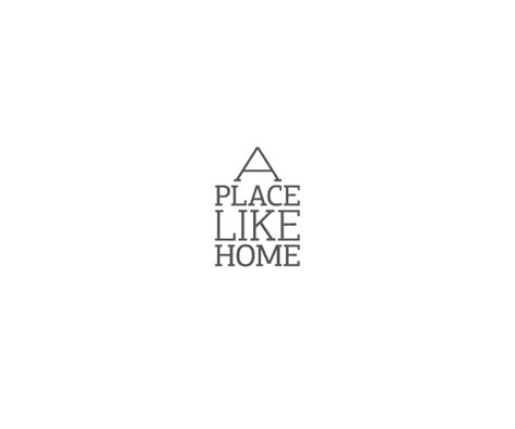 a place like home logo on behance