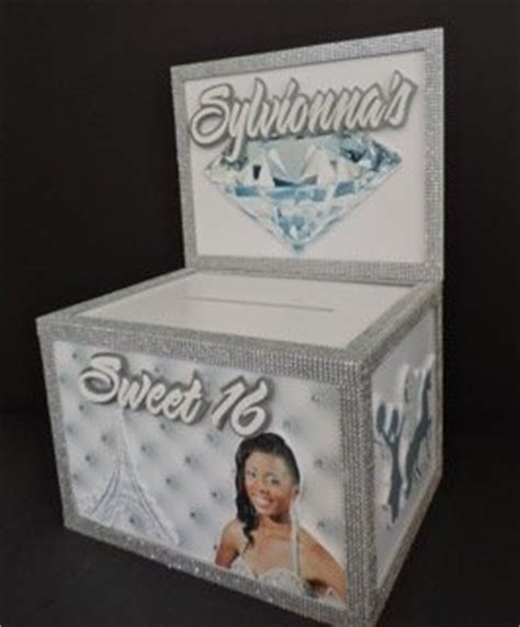 Square Gift Cards Faq - sweet 16 gift boxes party decorations signs and centerpieces by marlyss and stacey