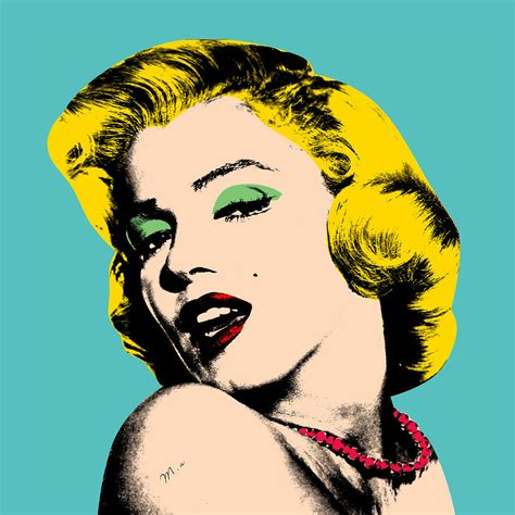 Home Decor Style Names by Andy Warhol Painting By Mark Ashkenazi