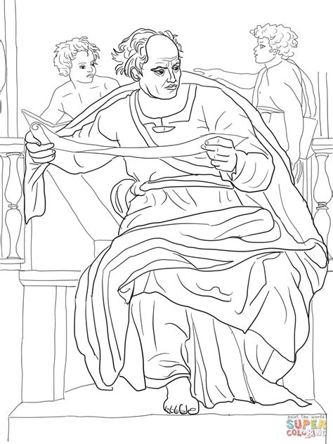 Prophet Joel Coloring Page Free Printable Coloring Pages Michelangelo Coloring Pages