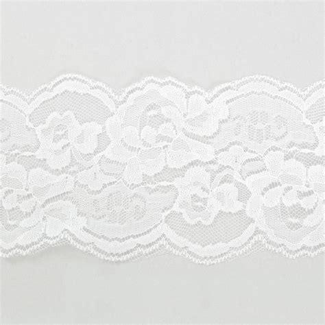 Ribbon Lace 4 quot scalloped edge lace ribbon white 10 yards ls155 81